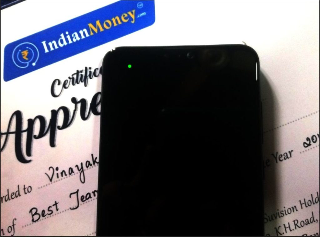 Notification light for any mobiles IndianMoney.com