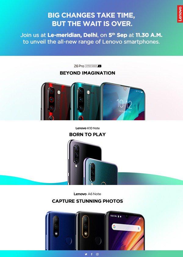 Lenovo A6 Note release date