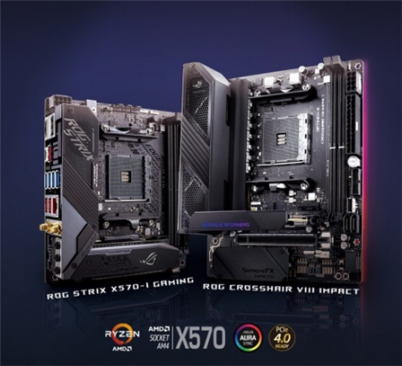 ASUS released ROG C8I and STRIX X570-I GAMING new motherboard