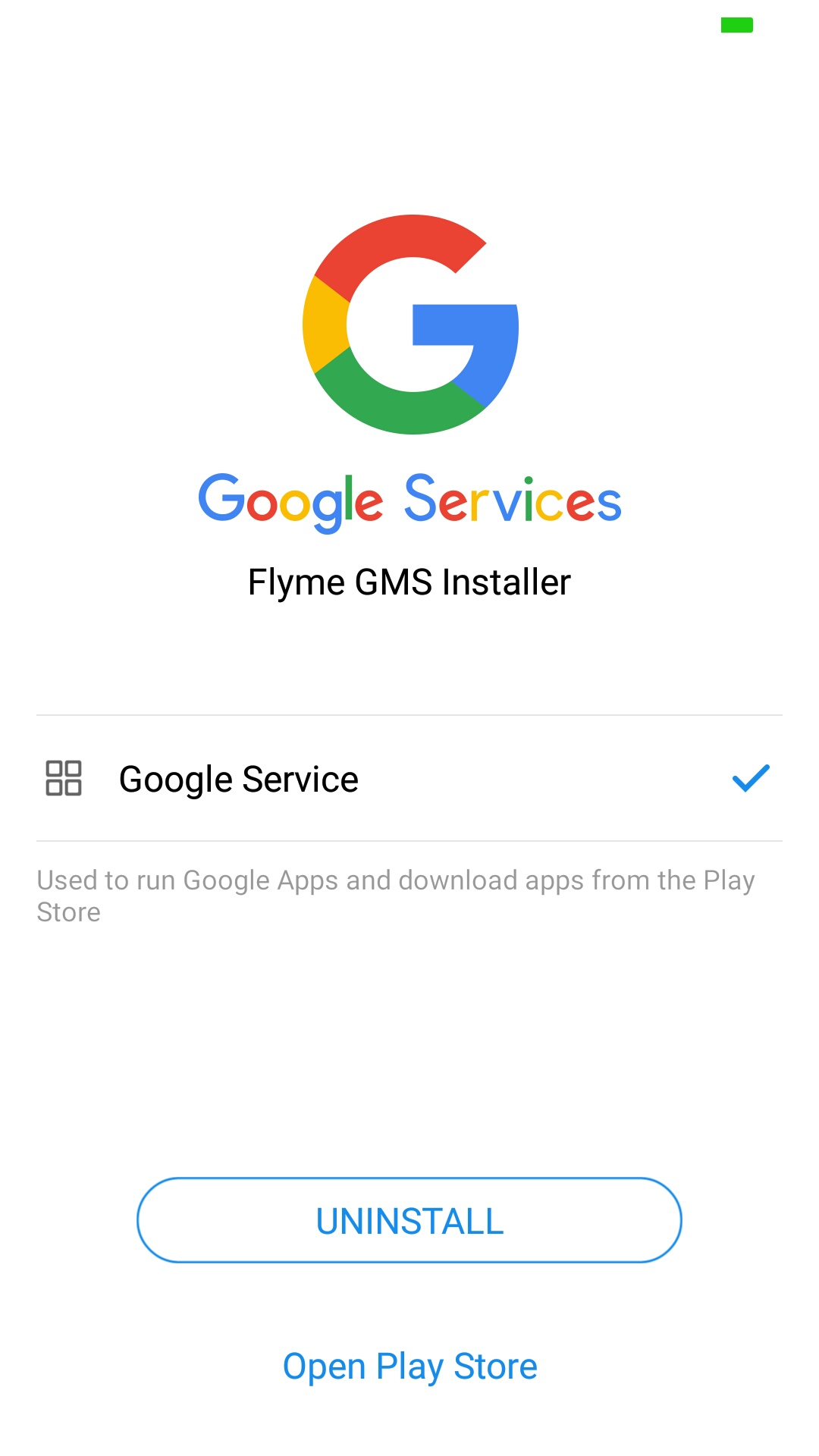 Google Play services stopped working
