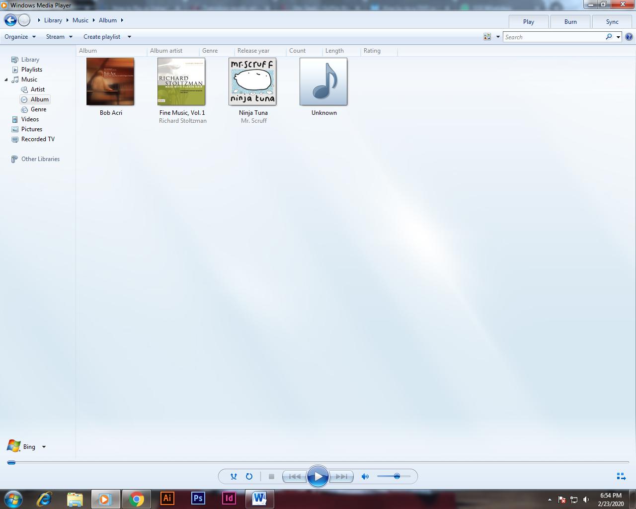 Windows Media Player copying CD