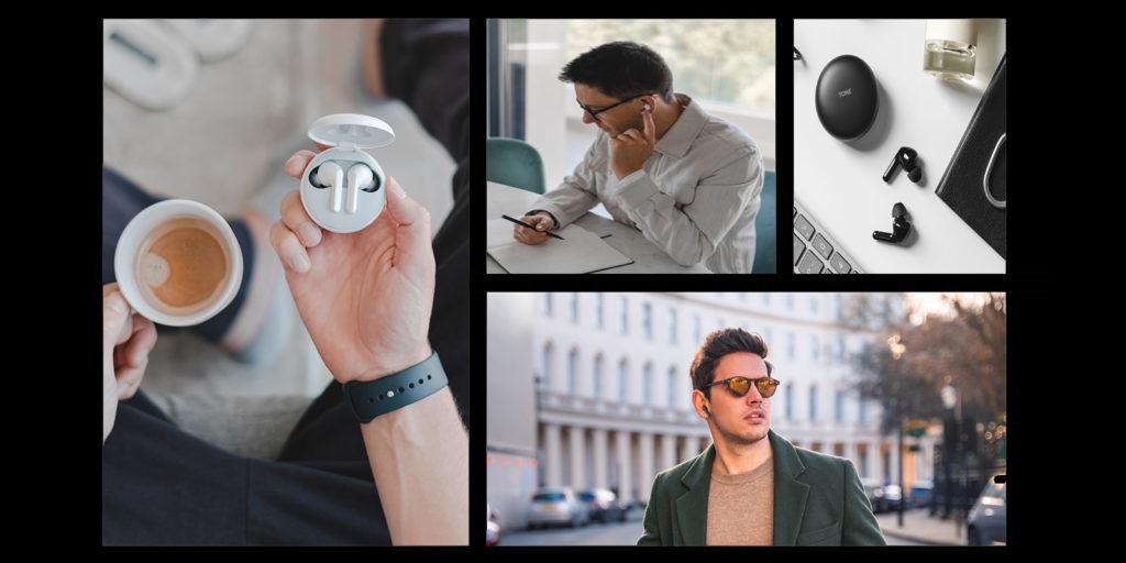 LG's Tone Free TWS earbud