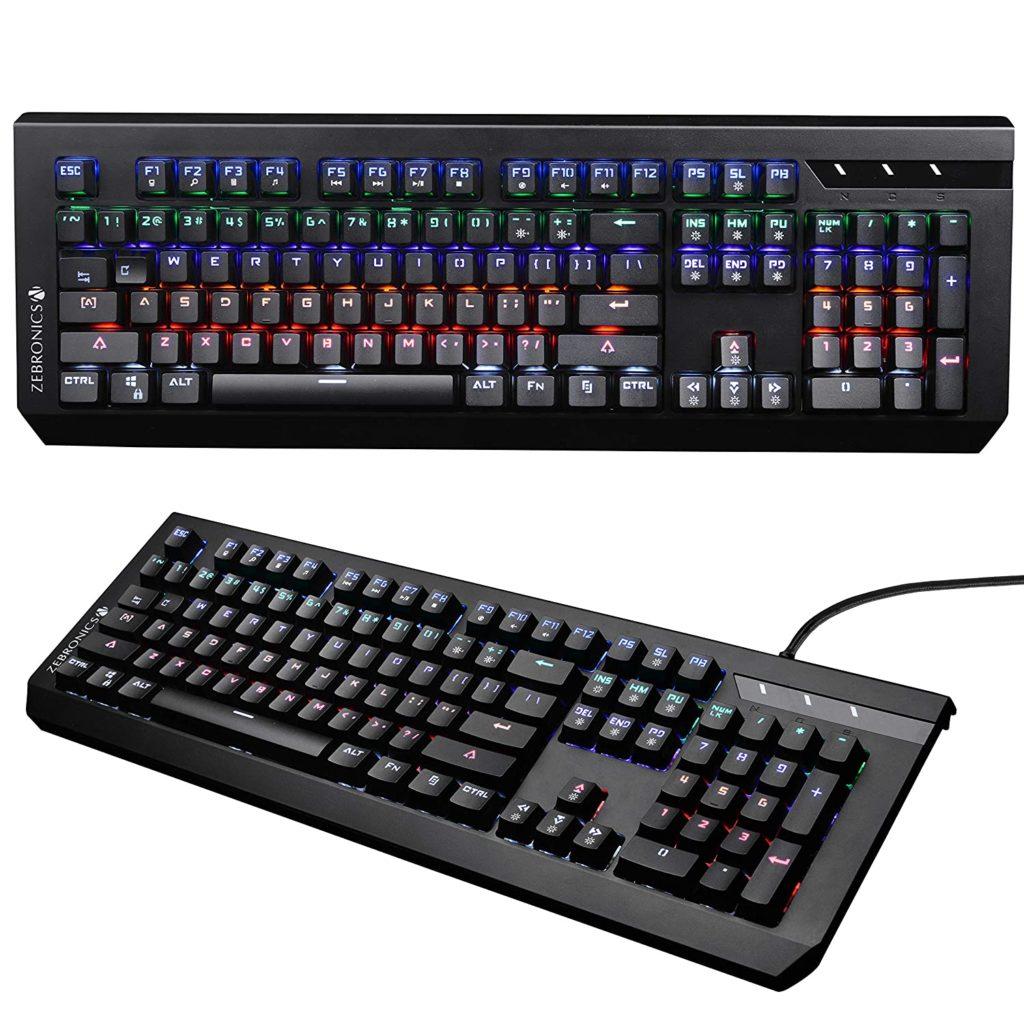 Zebronics Max Plus keyboard