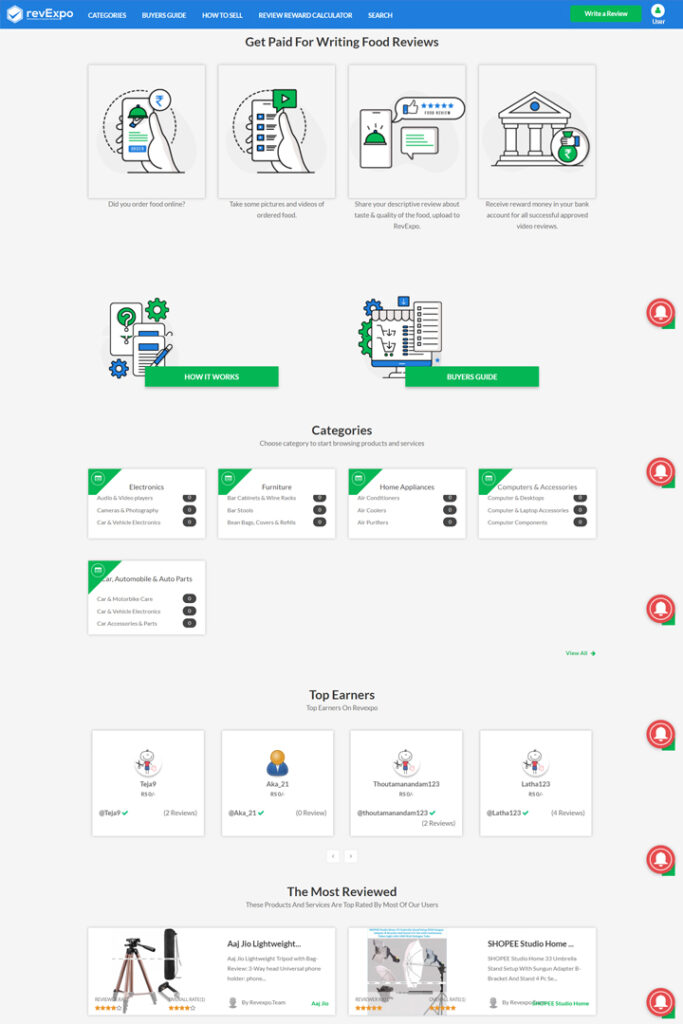 revExpo Homepage