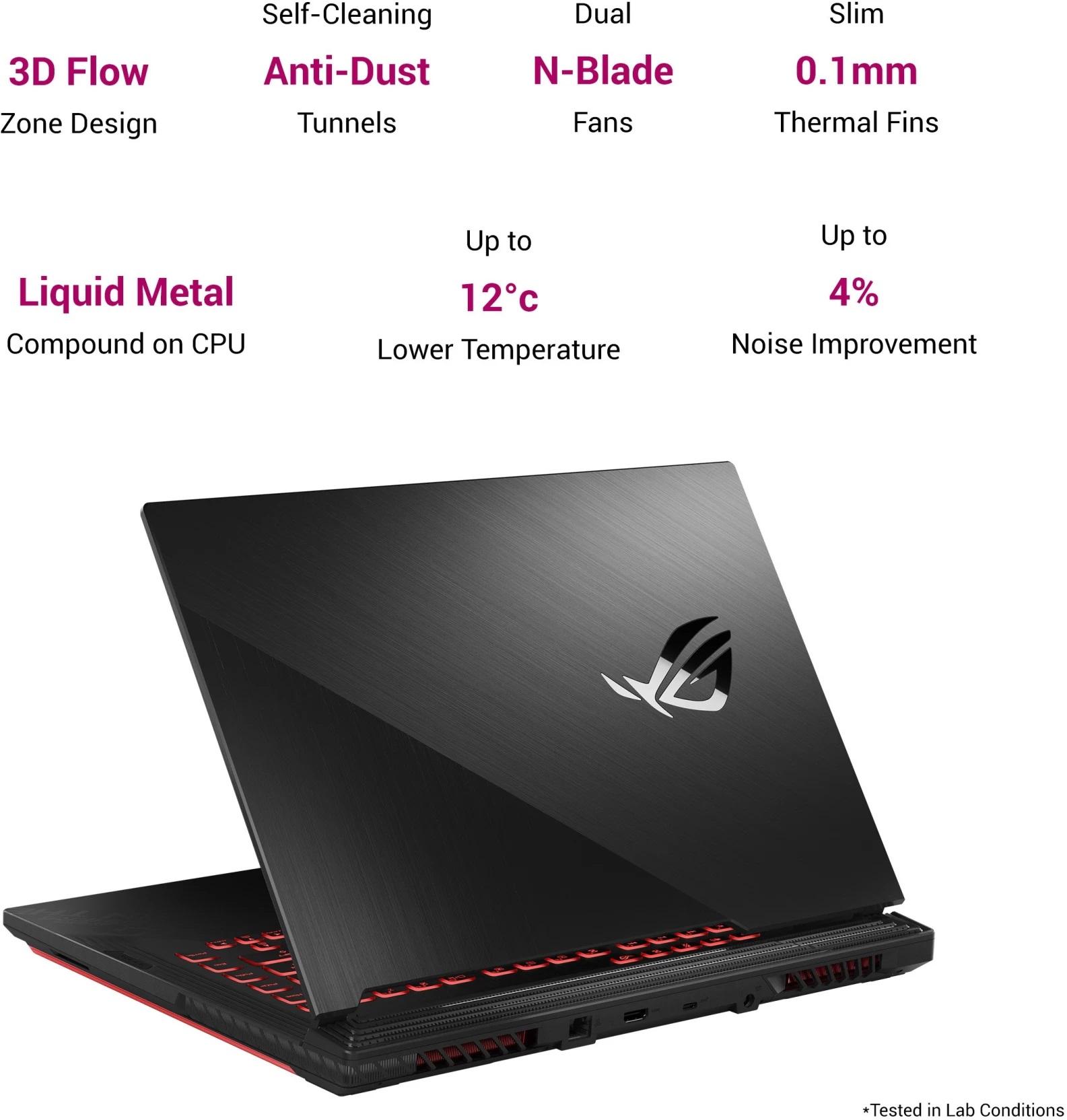 ASUS ROG RTX gaming laptop