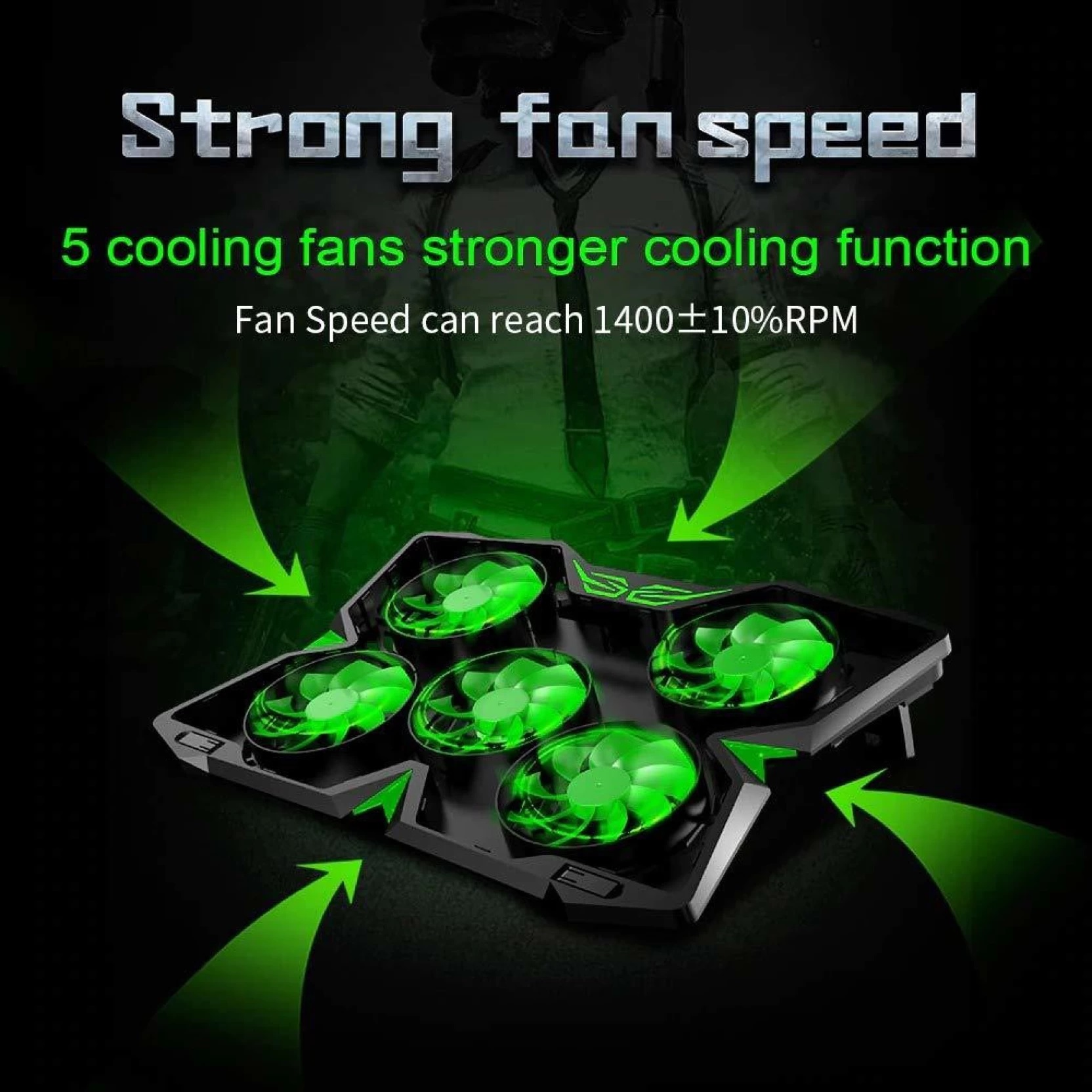 Coolcold gaming laptop fan
