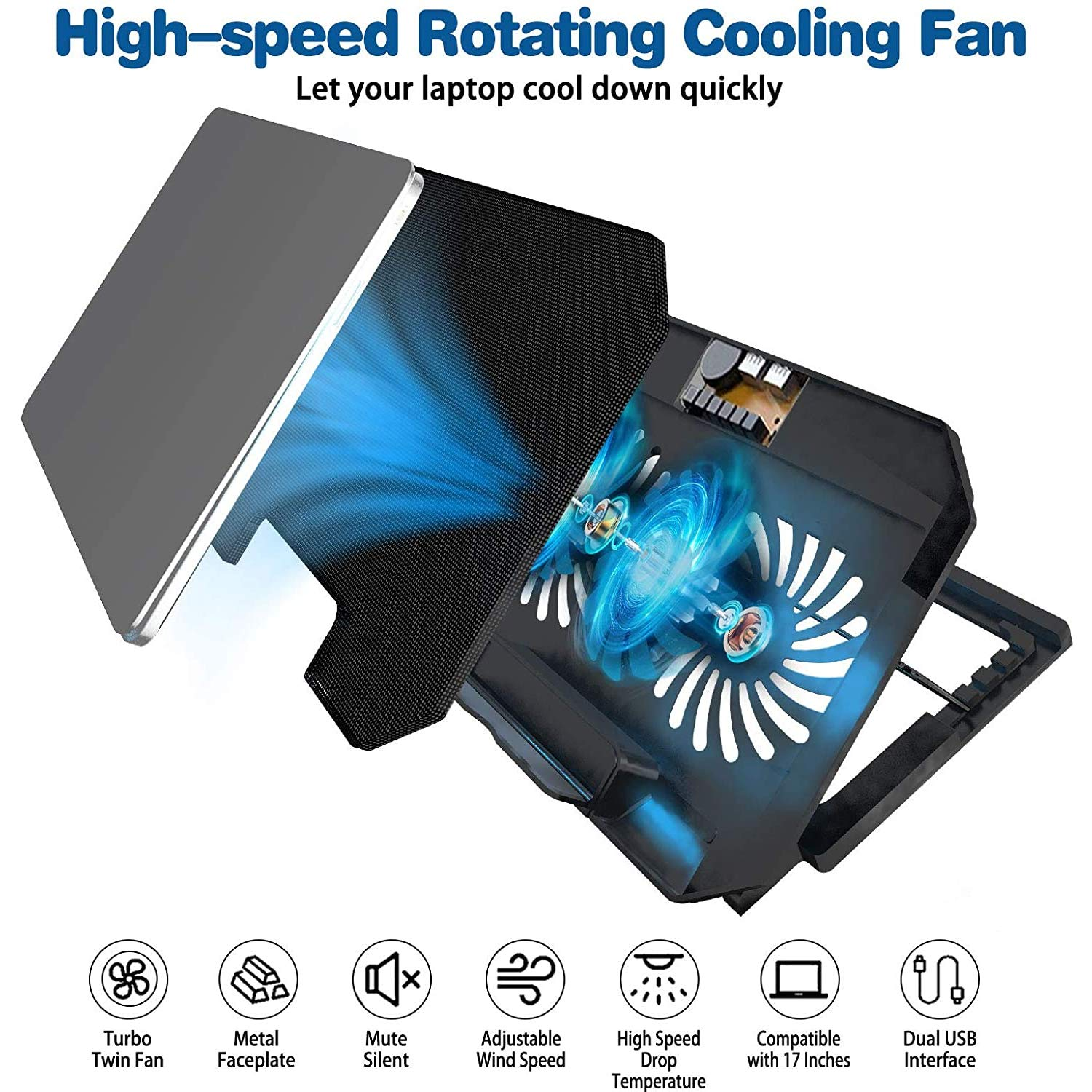 Zinq Cool Slate 2 laptop fan
