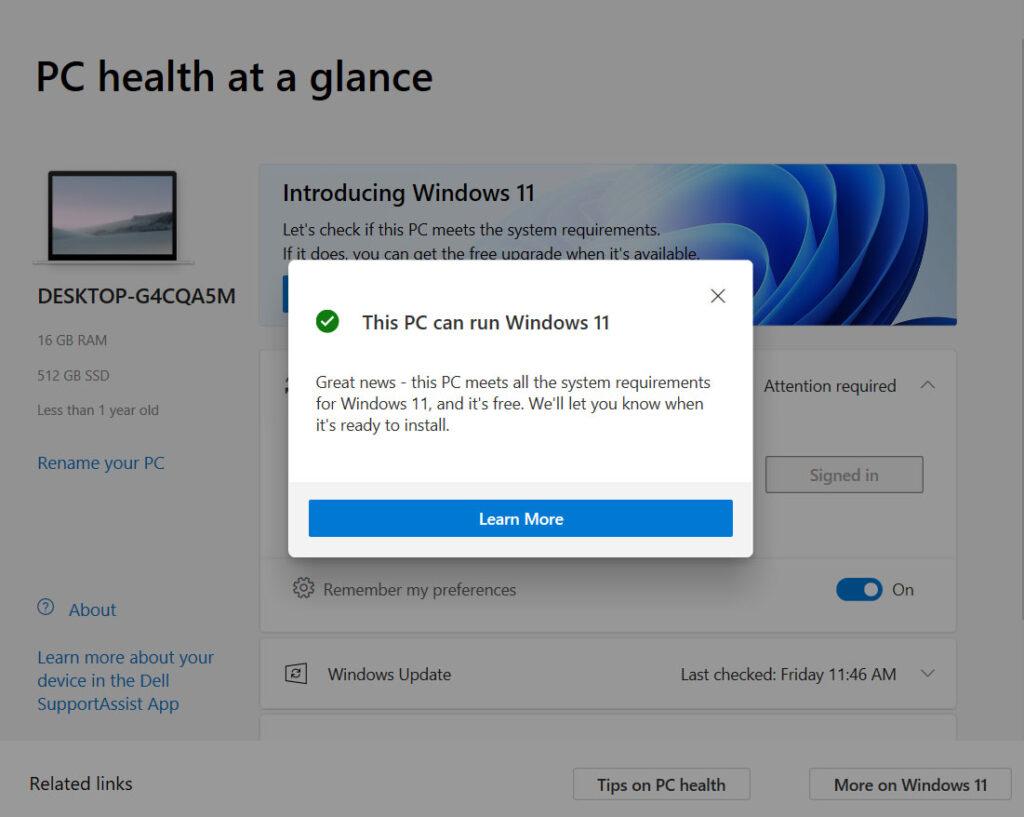Windows 11 OTA update