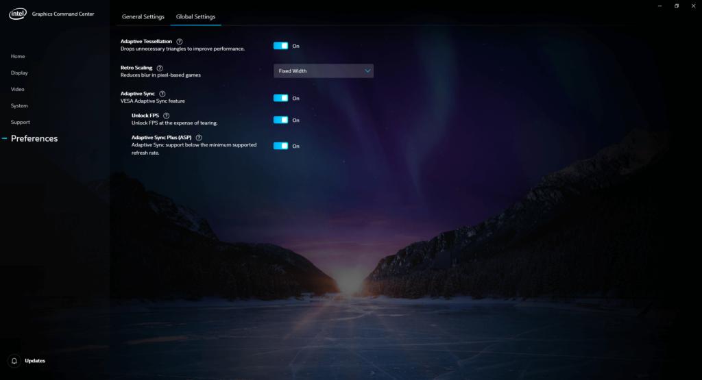 Intel Adaptive Sync